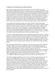 Lomborg's falske tolkning af prisen på global opvarmning