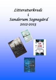 Litteraturkreds i Sanderum Sognegård 2012-2013 - Sanderum Kirke