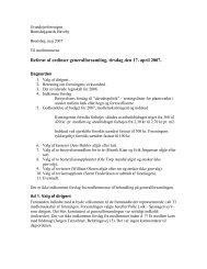 Referat af ordinær generalforsamling - Grundejerforeningen ...