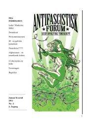 Januar 2011 - Foreningen Antifascistisk Forum