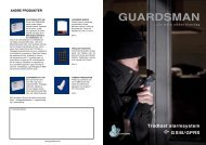 Guardsman brochure
