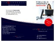 Brochure - CphWebdesign
