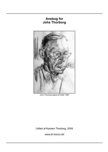 Anebog for Johs Thorborg - Thorborg - Liisberg Hjemmeside - Mono ...