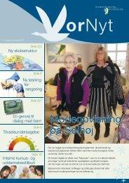 Modeopvisning på Solhøj - Vordingborg Kommune