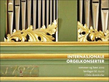 Fullstendig program - Oslo Domkirke