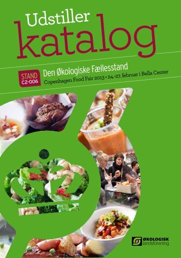 Udstiller - Økologisk mad i kantinen