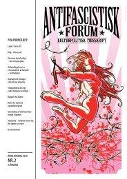 April 2010 - Foreningen Antifascistisk Forum