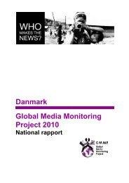 Læs den danske rapport fra undersøgelsen - DM
