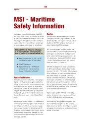 MSI - Maritime Safety Information - Fiskericirklen
