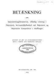 Betænkning 164 om højesteretssagførerprøven, offentlig ... - Krim