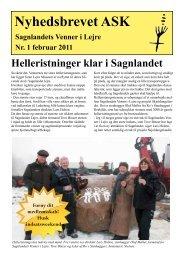 Nyhedsbrevet ASK - Sagnlandet Lejre
