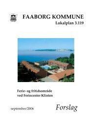 Forslag til Lokalplan 3.119 - 16-12-2009
