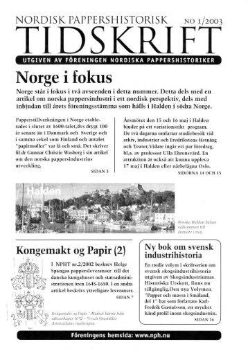 Adobe Photoshop Elements - Föreningen Nordiska Pappershistoriker