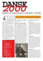 Nyheder til dansklærerne i Grønland · 23/2005 - Inerisaavik