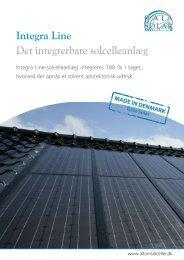 Integra Line Det integrerbare solcelleanlæg - Eiland Energi