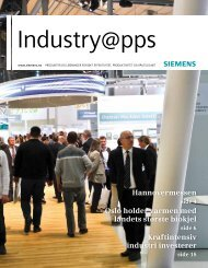 Industry@pps 1/2012 - Siemens AS