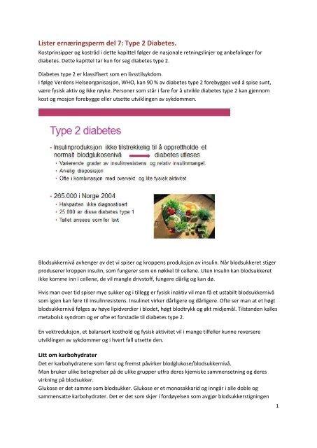 hvordan forebygge senkomplikasjoner ved diabetes