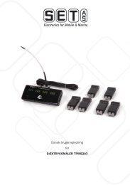 Manual - Skandinavisk Energi Teknik