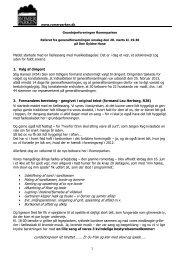Referat fra generalforsamlingen i marts 2013 - Romerparken