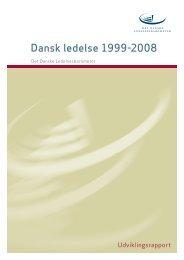 Dansk ledelse 1999-2008 - Handelshøjskolen, Aarhus Universitet