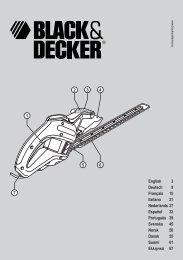 Advarsel! - Service - Black & Decker