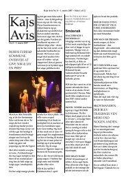 Småsnak - KAJ´s AVIS