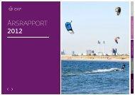 ÅRSRAPPORT 2012 - EKF