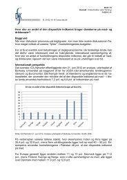 Hvor stor en andel af den disponible indkomst bruger ... - DSK