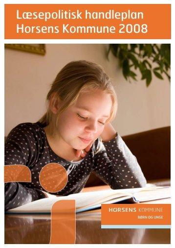Læsepolitisk handleplan Horsens Kommune 2008 - Gedved Skole