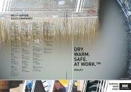DRY. WARM. SAFE. AT WORK.™ - Lange Sikkerhedsudstyr A/S