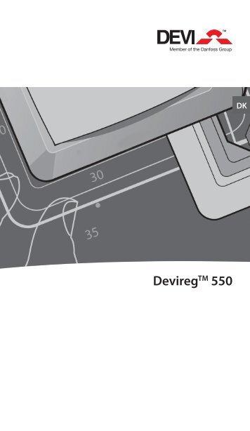 DeviregTM 550 - Danfoss Varme
