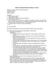 Referat fra bestyrelsesmøde torsdag d. 8. februar - ALTS
