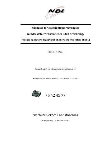 Download Egenkontrol - NBL