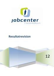 Resultatrevision 2012 - Frederikshavn Kommune