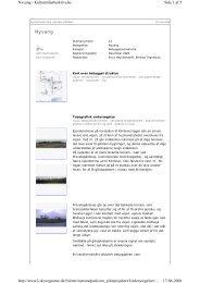 Nyvang - Danmarks nationalparker