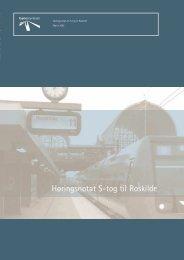 Høringsnotat S-tog til Roskilde