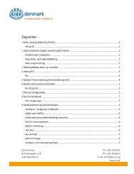 2013-03-06, DL, Referat - CISV Danmark