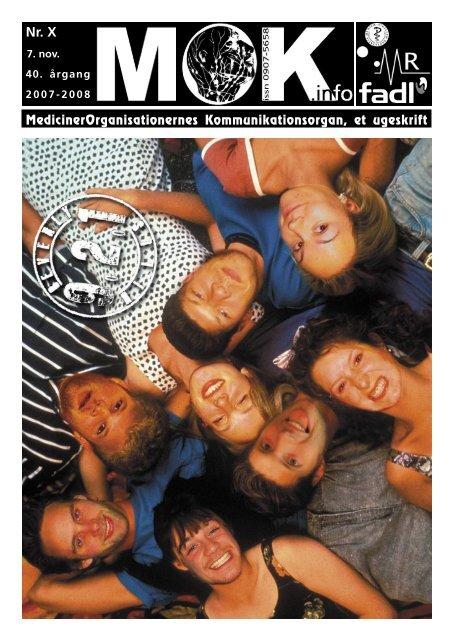 MedicinerOrganisationernes Kommunikationsorgan, et ugeskrift - MOK