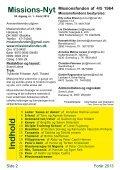 Missions-Nyt nr. 1 - 2013 med billeder - Missionsfonden - Page 2