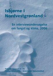 Nr. 70 - Isbjørne i Nordvestgrønland - Grønlands Naturinstitut