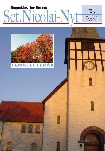 TEMA: EFTERÅR - Sct. Nicolai Kirke