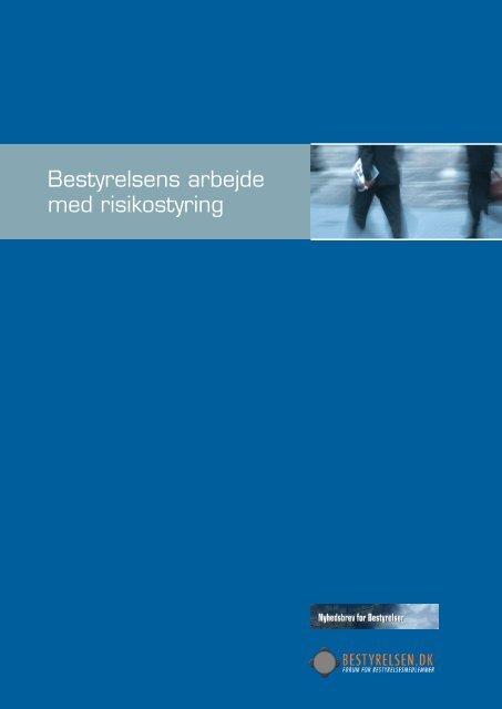 Bestyrelsens arbejde med risikostyring - JP Pro - Jyllands-Posten