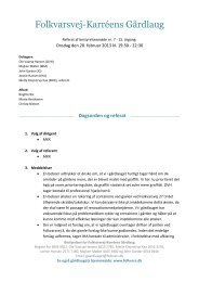 Referat 20. februar 2013 - Folkvarsvej-Karréens Gårdlaug