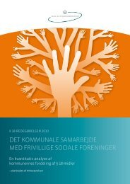 18-redegørelsen 2010 - Social