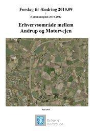 Erhvervsområde mellem Andrup og Motorvejen - Esbjerg Kommune