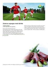 Grønne asparges med skinke - Arla