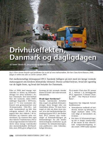 Drivhuseffekten, Danmark og dagligdagen (pdf) - DMI