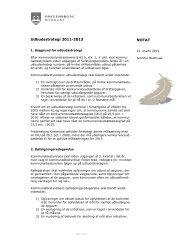 Udbudsstrategi 2011-2013 NOTAT - Fredensborg Kommune