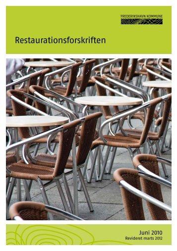Restaurationsforskriften - Frederikshavn Kommune