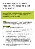 Restaurationsforskriften - Frederikshavn Kommune - Page 2